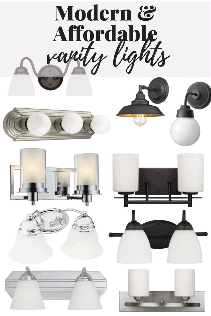 affordable bathroom lighting 10 vanity lights i amp renovations 10074